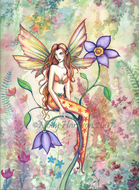 Flower Fairy Art Prints By Molly Harrison Fantasy Art