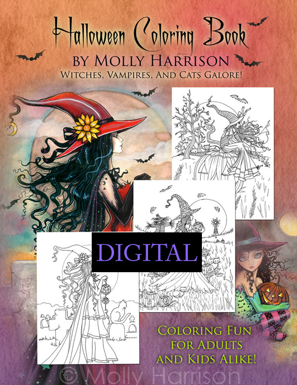 Halloween Coloring Book Pdf