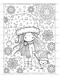 Winter Wonderland Coloring Pages Coloring Pages Ideas Reviews